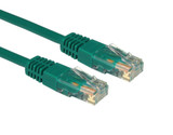 Product image for CAT5e PATCH CORD 10M GREEN Network Cable 325943 | AusPCMarket Australia
