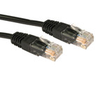 Product image for CAT5e PATCH CORD 10M BLACK Network Cable 34537 | AusPCMarket Australia
