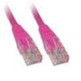 Product image for CAT5e PATCH CORD  5M PINK Network Cable 45310 | AusPCMarket Australia