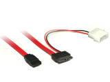 Product image for 30CM Slimlime SATA Cable | AusPCMarket Australia