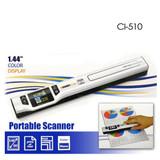 Product image for Digitalk Portable Handheld A4 1050dpi Photo & Document Scanner (CI-510   AusPCMarket Australia