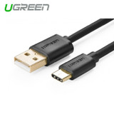 Product image for 1m USB 2.0 Type A Male to USB 3.1 Type-C Male Cable White | AusPCMarket Australia