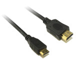 Product image for 0.5M Mini HDMI to HDMI Cable | AusPCMarket.com.au