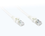 Product image for 0.5M White CAT6A 10GB SSTP/SFTP Cable | AusPCMarket Australia