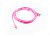 Product image for 1M Red Micro USB 22AWG Fast Charging Cable | AusPCMarket Australia
