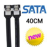 Product image for 40cm SATA 3.0 DATA Cable with Metal Grip | AusPCMarket Australia