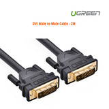 Product image for 2M UGreen DVI Male to Male Cable - ACBUGN11604 | AusPCMarket Australia