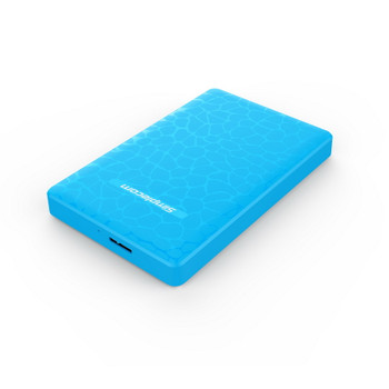 Product image for Simplecom 2.5in SATA to USB 3.0 HDD/SSD Box Blue | AusPCMarket Australia