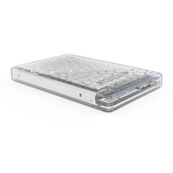 Simplecom 2.5in SATA to USB 3.0 HDD/SSD Box Transparent Clear Product Image 2