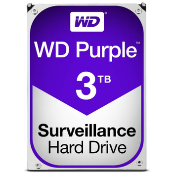 Product image for Western Digital WD Purple 3TB Surveillance Hard Drive | AusPCMarket Australia