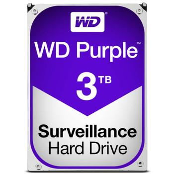 Product image for Western Digital WD Purple 3TB Surveillance Hard Drive | AusPCMarket Australia