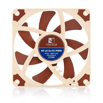 Product image for Noctua NF-A12x15 120mm PWM 1850RPM Fan | AusPCMarket Australia
