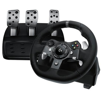 Product image for Logitech G920 Driving Force Racing Wheel for PC & Xbox One | AusPCMarket Australia