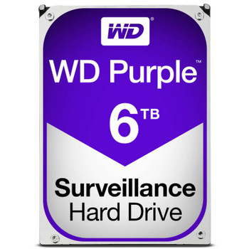 Product image for Western Digital WD Purple 6TB Surveillance Hard Drive | AusPCMarket Australia