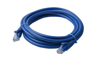 Product image for 30m Cat 6a UTP Ethernet Cable, Snagless - 30m Blue | AusPCMarket Australia