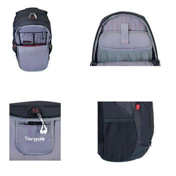 Targus 16in Terra Backpack Black TSB226AU Product Image 2