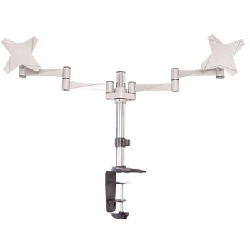 Product image for Astrotek Monitor Stand Desk Mount 43cm Arm for Dual Screens 13-29in | AusPCMarket Australia
