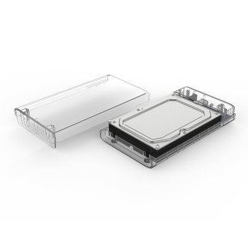 Simplecom 3.5in SATA to USB 3.0 Hard Drive Docking Box Clear Product Image 2