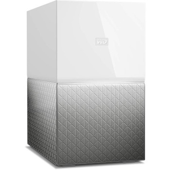 Product image for Western Digital WD My Cloud Home Duo 4TB Dual-Drive Personal Cloud Storage NAS | AusPCMarket Australia