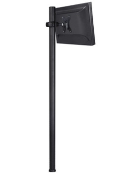 Product image for Atdec Spacedec Display Donut Pole 1150mm Black | AusPCMarket Australia