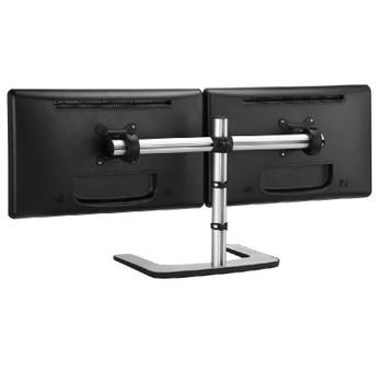 Atdec Visidec Freestanding Dual Monitor Horizontal Stand Product Image 2