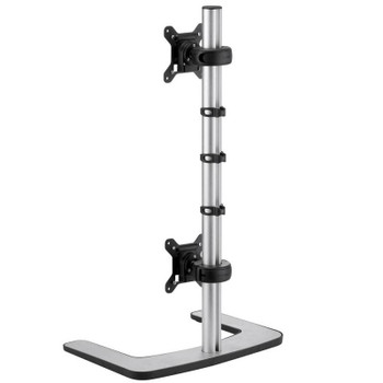 Atdec Visidec Freestanding Dual Monitor Vertical Stand Product Image 2