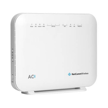 Product image for NetComm NF18ACV VDSL2/ADSL2+ Wireless AC1600 Modem Router - NBN Ready | AusPCMarket Australia