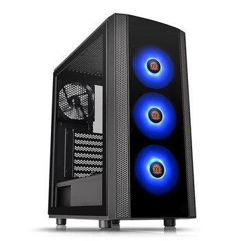 Product image for Thermaltake Versa J25 TG RGB Edition Mid-Tower Chassis   AusPCMarket Australia