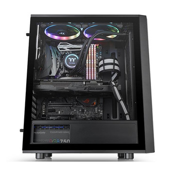 Thermaltake Versa J25 TG RGB Edition Mid-Tower Chassis Product Image 2