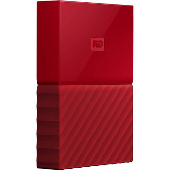 Product image for Western Digital WD My Passport 1TB USB 3.0 Premium Portable Storage - Red | AusPCMarket Australia