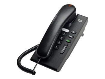 Product image for Cisco Unified IP Phone 6901 Charcoal Slimline | AusPCMarket Australia