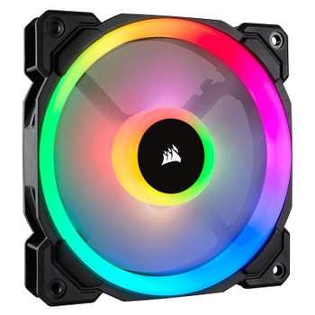Corsair LL120 RGB 120mm Fans 3 Pack with Lighting Node Pro Product Image 2