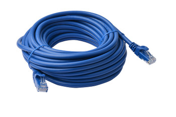 Product image for 40m Blue Cat 6a UTP Ethernet Cable, Snagless | AusPCMarket Australia