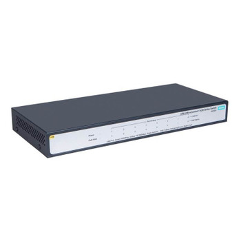 HPE OfficeConnect 1420 Gigabit 8 Port PoE+ (64W) Unmanaged Switch Product Image 2