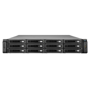 Product image for Qnap REXP-1220U-RP 12 Bay Rackmount RAID Expansion Enclosure | AusPCMarket Australia