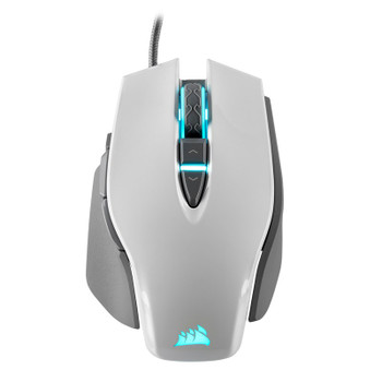 Corsair M65 Pro Elite Gaming Mouse White Product Image 2