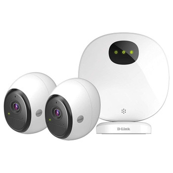 Product image for D-Link OMNA DCS-2802KT Wire-Free Indoor/Outdoor Camera Kit | AusPCMarket Australia