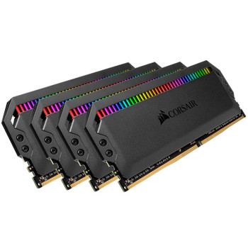 Corsair Dominator Platinum RGB 32GB (4x 8GB) DDR4 3200MHz Memory - Black Product Image 2