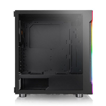 Thermaltake H200 RGB Tempered Glass Mid Tower Chassis Black Product Image 2