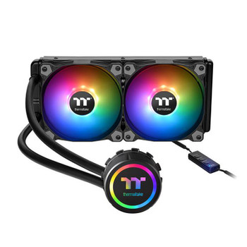 Product image for Thermaltake Water 3.0 240mm ARGB Sync AIO CPU Cooler | AusPCMarket Australia