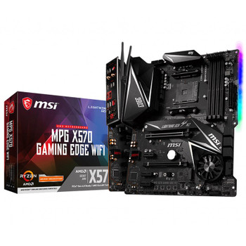 Product image for MSI X570 Gaming Edge WiFi Motherboard   AusPCMarket Australia