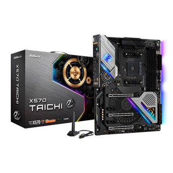 Product image for ASRock X570 Taichi Motherboard | AusPCMarket Australia
