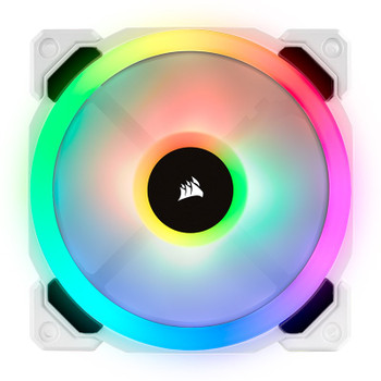 Corsair LL120 RGB 120mm Independent RGB PWM Fan White Product Image 2