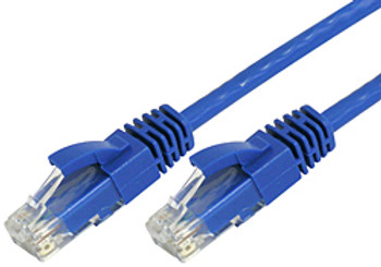 Product image for Comsol 0.5m 10GbE Cat 6A UTP Snagless Patch Cable LSZH (Low Smoke Zero Halogen) - Blue | AusPCMarket.com.au