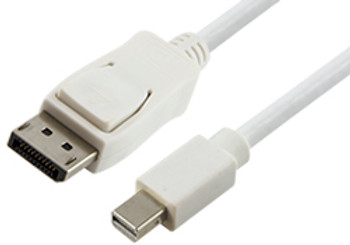 Product image for Comsol 1m Mini DisplayPort Male to DisplayPort Male Cable | AusPCMarket Australia