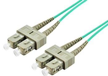Product image for Comsol 10m SC-SC Multi-Mode Duplex Fibre Patch Cable LSZH 50/125 OM4   AusPCMarket Australia