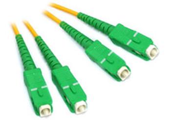 Product image for Comsol 10m SCA-SCA Single-Mode Duplex Fibre Patch Cable LSZH 9/125 OS2 | AusPCMarket Australia
