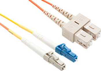 Product image for Comsol 1m Mode Conditioning Patch Cable LC Equipment (Single-Mode) to SC Cable Plant (Multi-Mode) LSZH 62.5/125 OM1 | AusPCMarket Australia