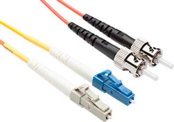 Product image for Comsol 1m Mode Conditioning Patch Cable LC Equipment (Single-Mode) to ST Cable Plant (Multi-Mode) LSZH 62.5/125 OM1 | AusPCMarket Australia