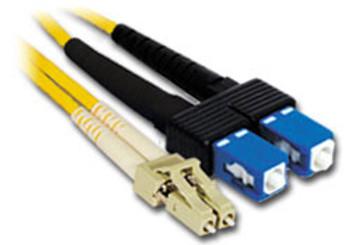 Product image for Comsol 10m LC-SC Single-Mode Duplex Fibre Patch Cable LSZH 9/125 OS2 | AusPCMarket Australia
